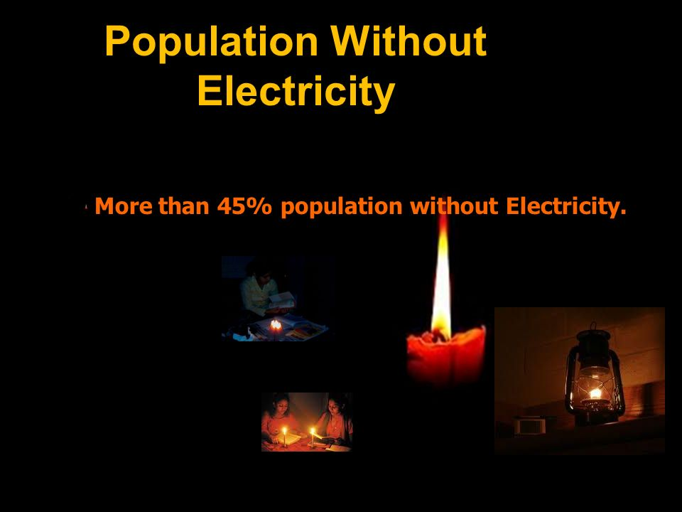 Population Without Electricity