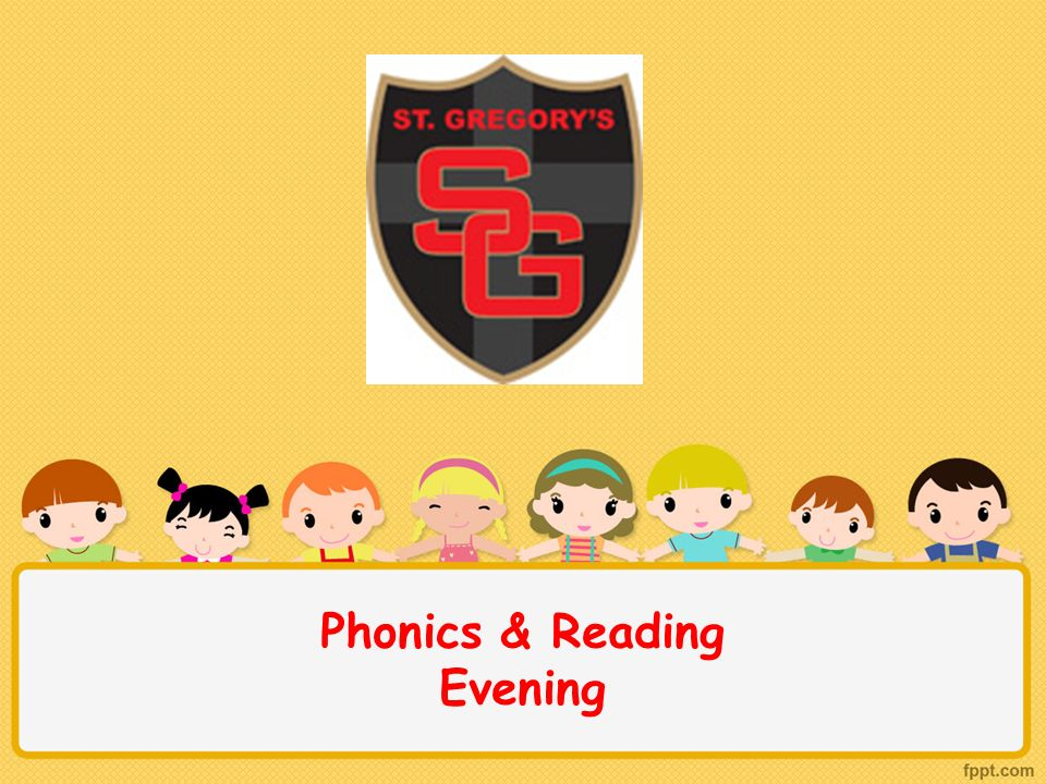 Phonics & Reading Evening