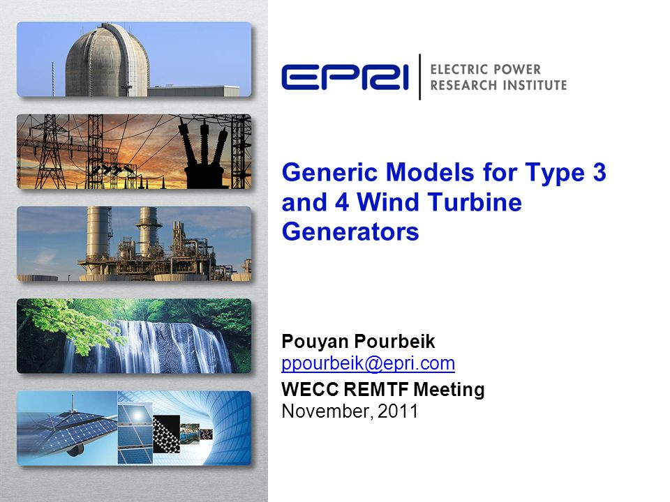 Generic Models for Type 3 and 4 Wind Turbine Generators