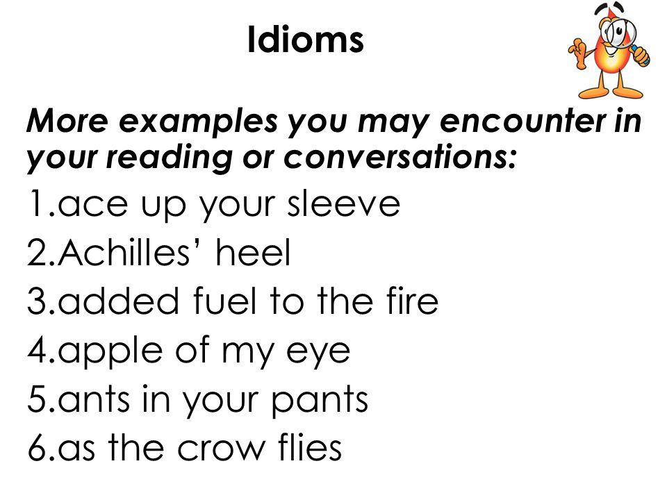 Idioms Figurative Language In Lesson 36 You Will Ppt Video Online
