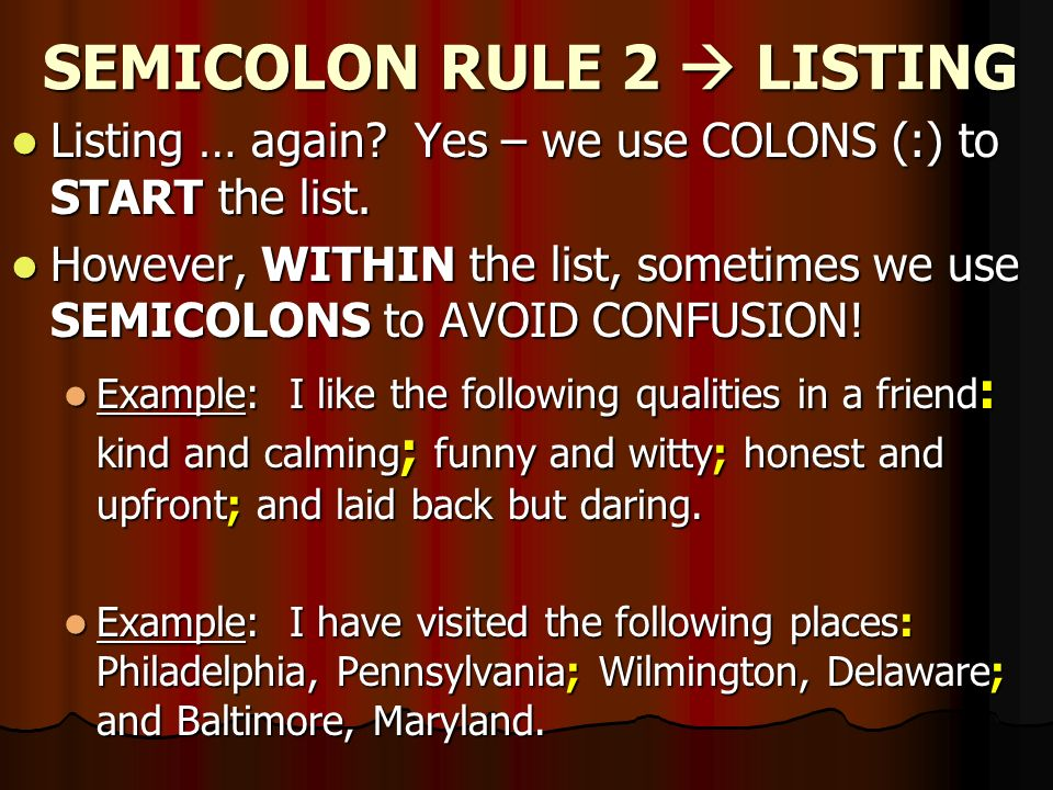Commas Colons And Semicolons Oh My Ppt Video Online Download