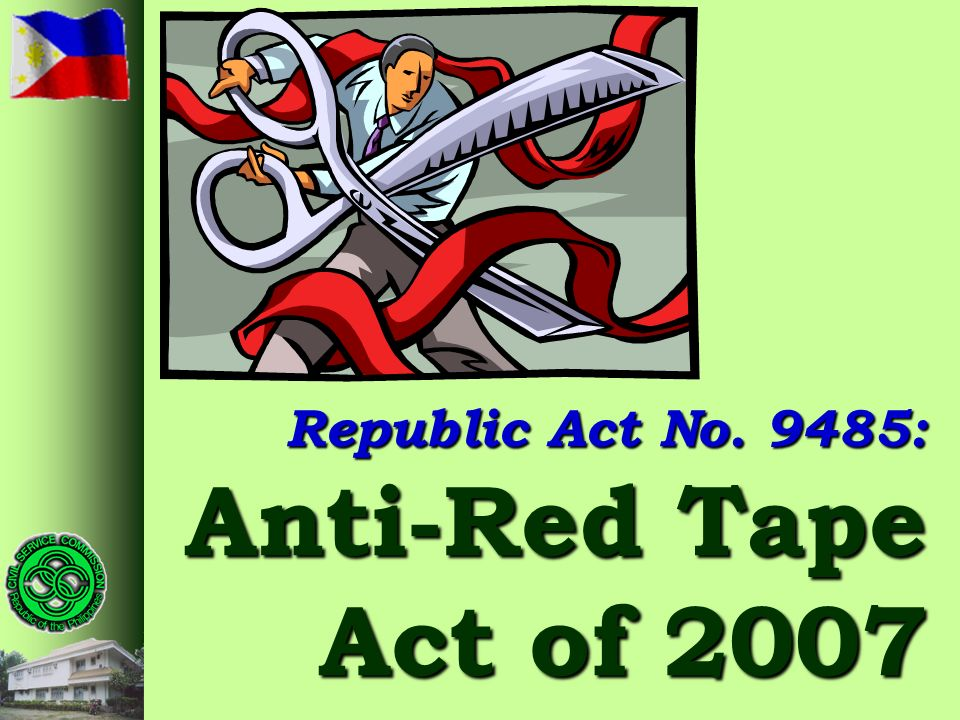 9485: Anti-Red Tape Act of 2007