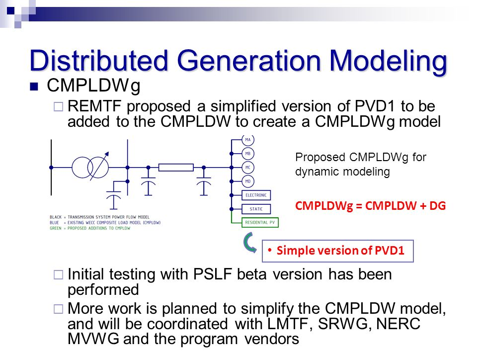 Distributed Generation Modeling