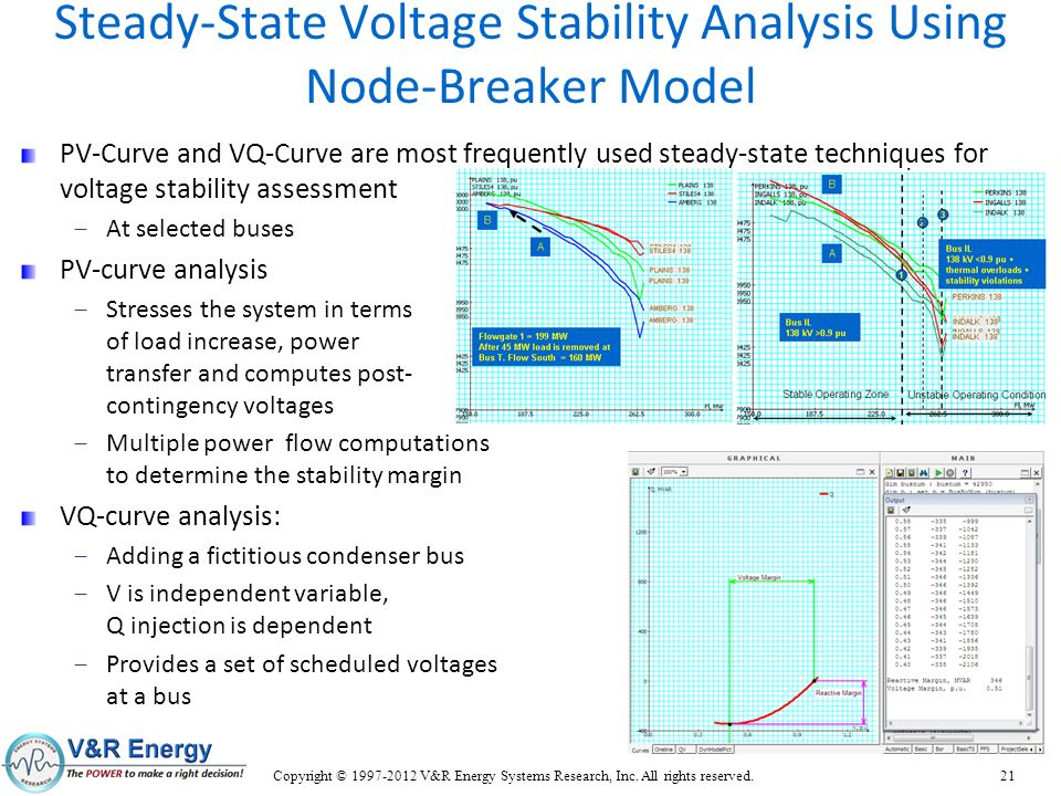 Steady-State Voltage Stability Analysis Using Node-Breaker Model
