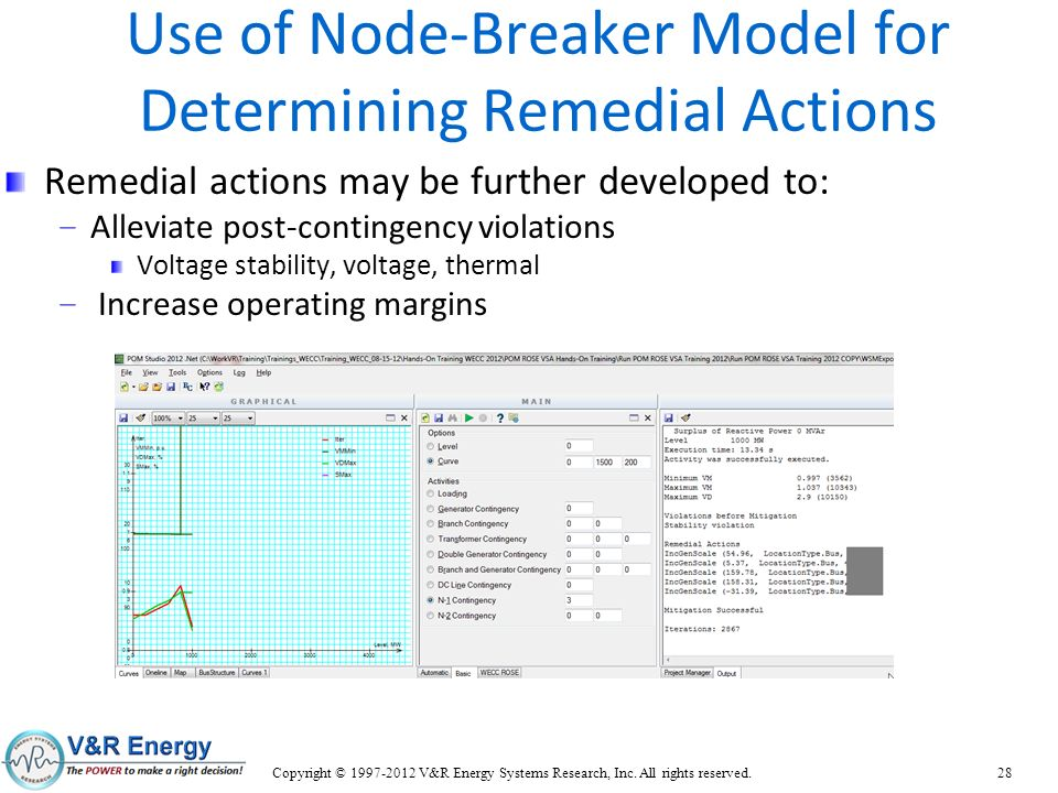 Use of Node-Breaker Model for Determining Remedial Actions