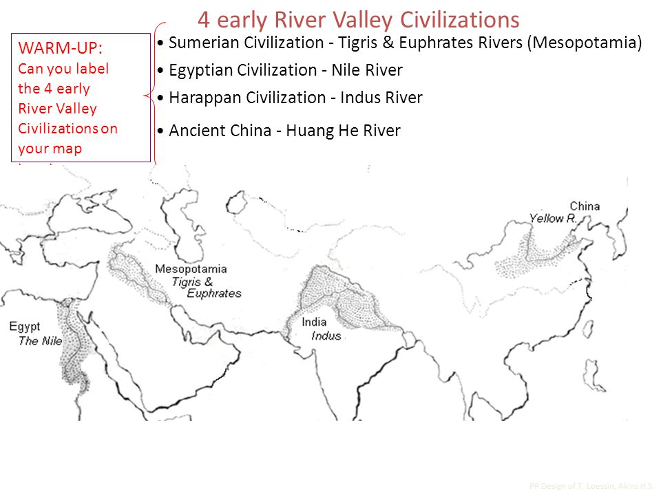 Ancient Egypt And The Early River Valley Civilizations Ppt Video. 4 Early River Valley Civilizations. Worksheet. World Rivers Worksheet At Clickcart.co