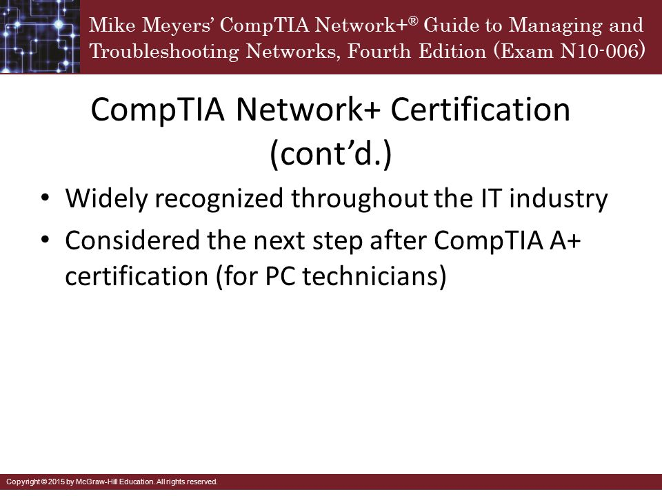 Comptia Network In A Nutshell Ppt Download