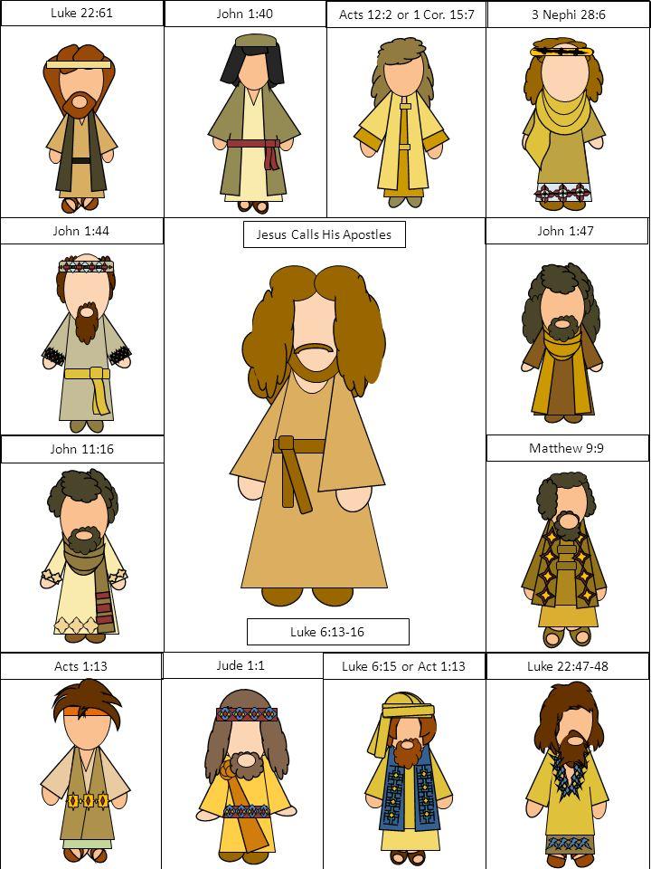 The Twelve Apostles Clip Art