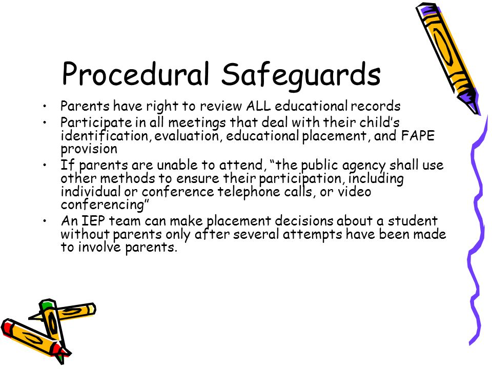 Special Education Procedural Safeguards >> Planning Together For Service Ppt Video Online Download