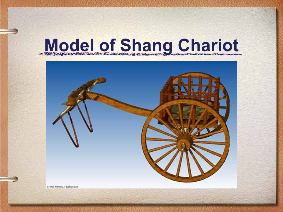 Model of Shang Chariot