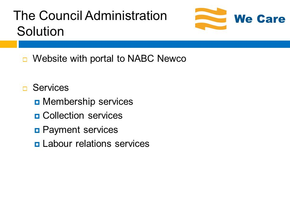 The Council Administration Solution