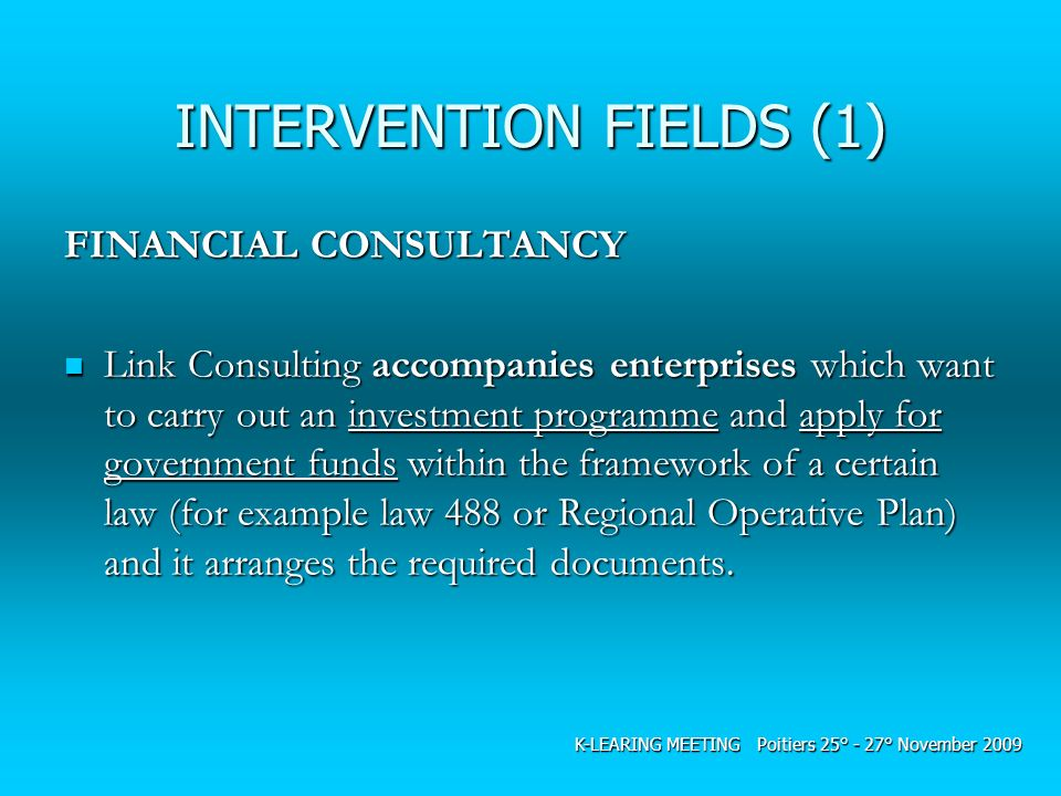 INTERVENTION FIELDS (1)