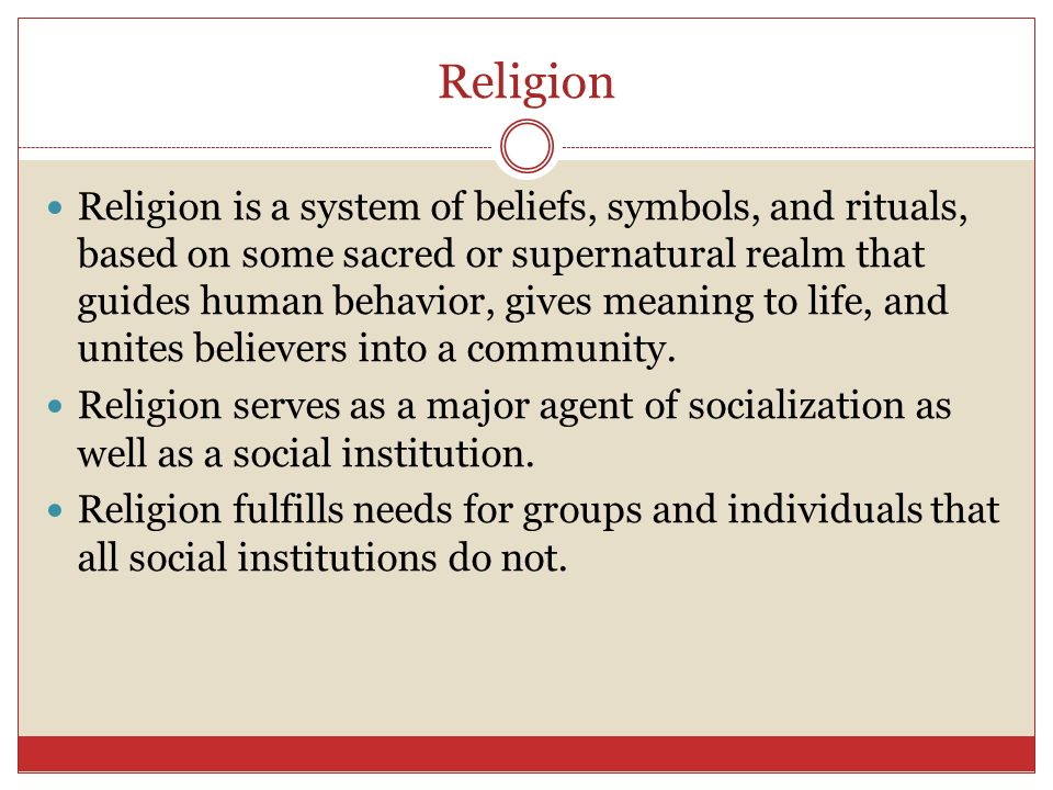 Education And Religion Ppt Video Online Download