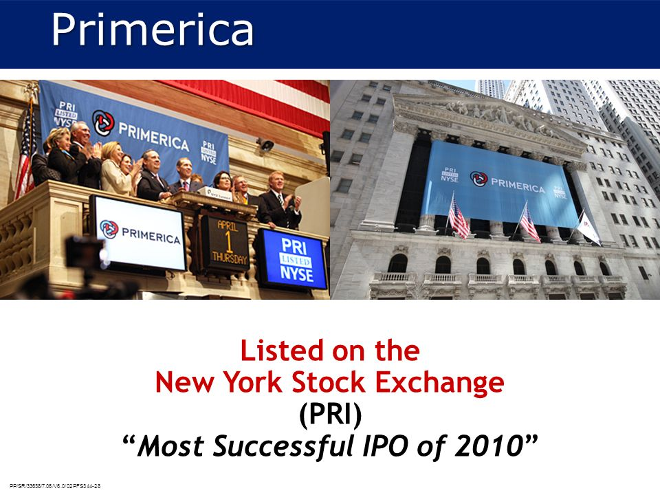 Listed on the New York Stock Exchange Most Successful IPO of 2010