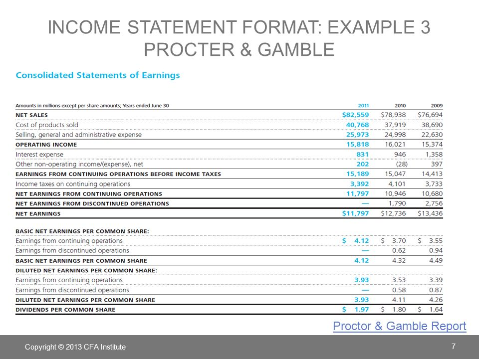Procter and gamble income statement proctor and gamble graduate jobs uk