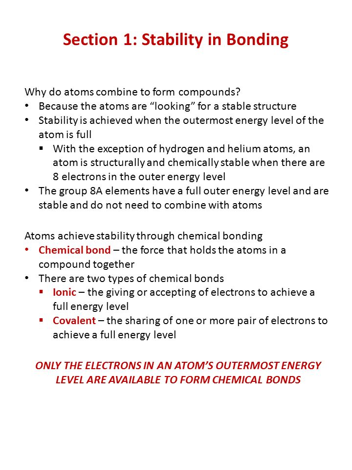 Chapter 18: Chemical Bonds - ppt video online download