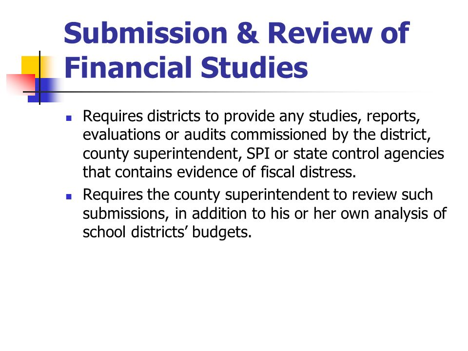 Submission & Review of Financial Studies