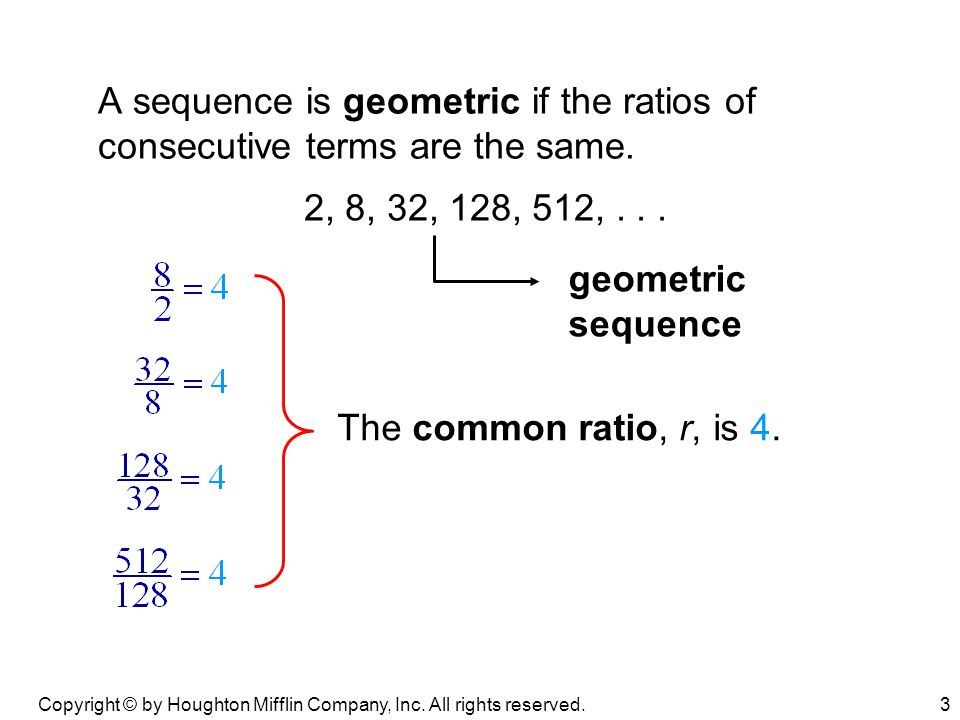 Review Geometric Sequences Exponential Functions - ppt video