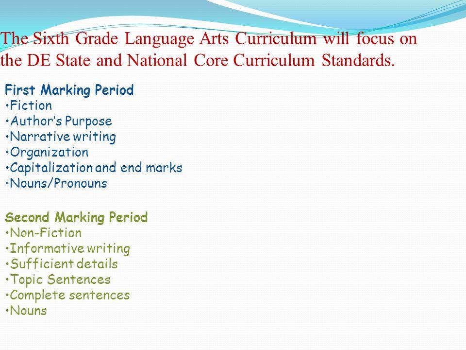 6th grade language arts worksheets printable