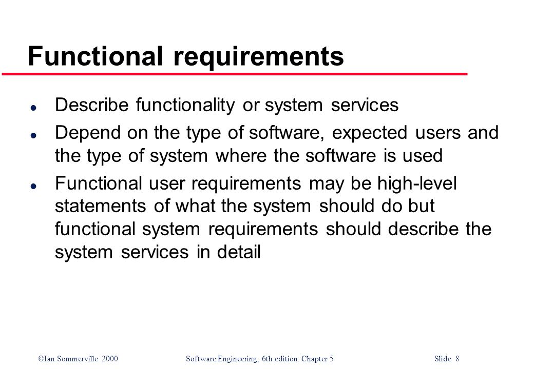 Topics Covered Functional And Nonfunctional Requirements Ppt Download - Software functional requirements