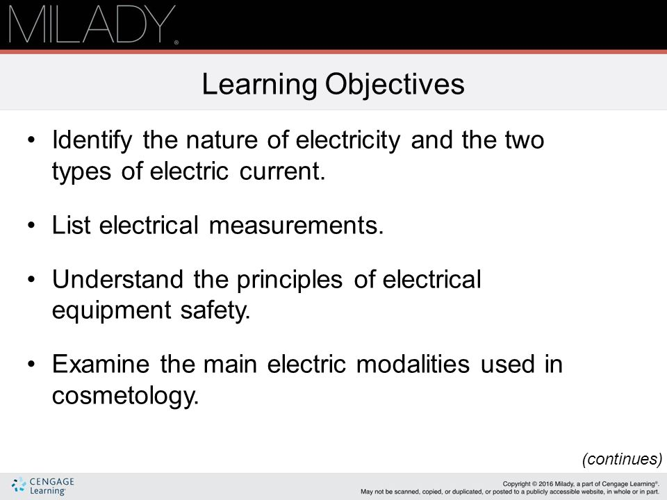 Chapter 13 Basics Of Electricity Ppt Download