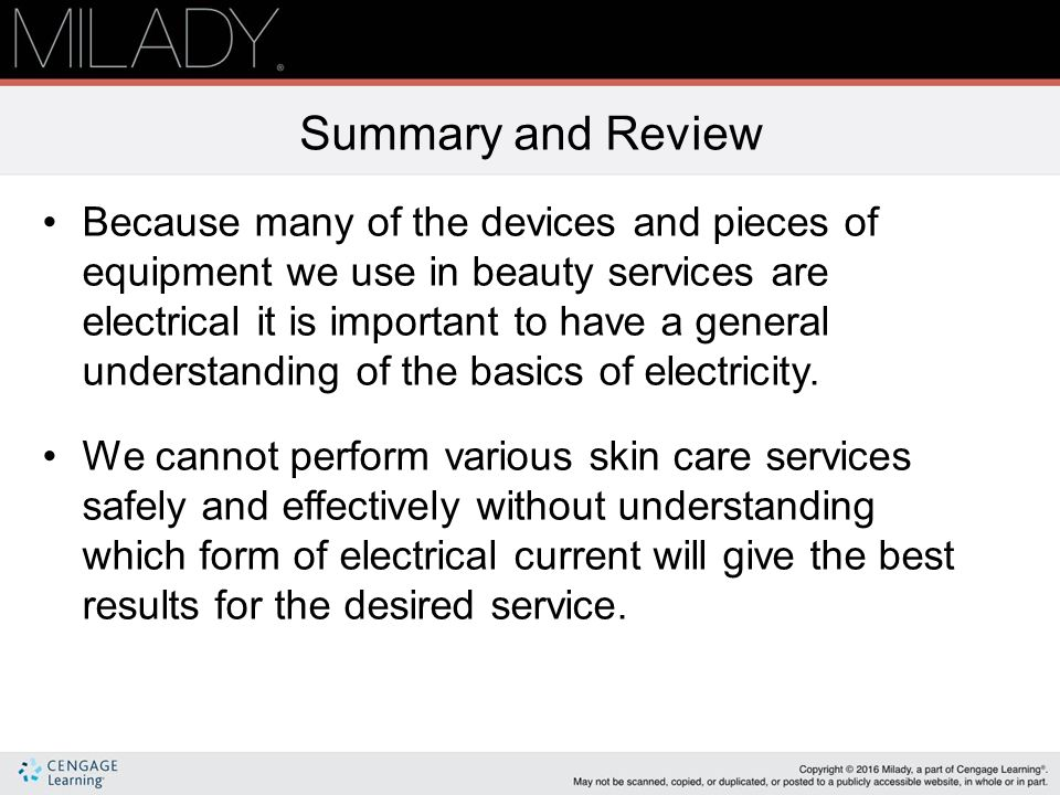 why is skin elasticity important milady