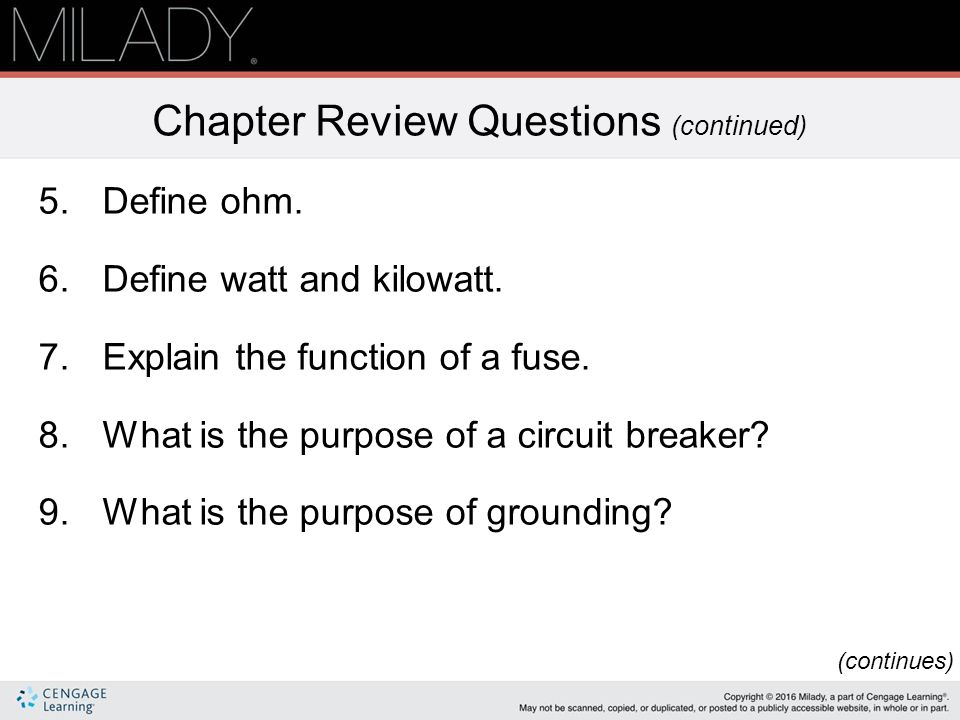 Chapter 13 Basics of Electricity  - ppt download