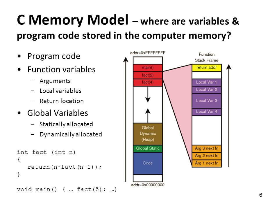 Outline Midterm results Static variables Memory model - ppt