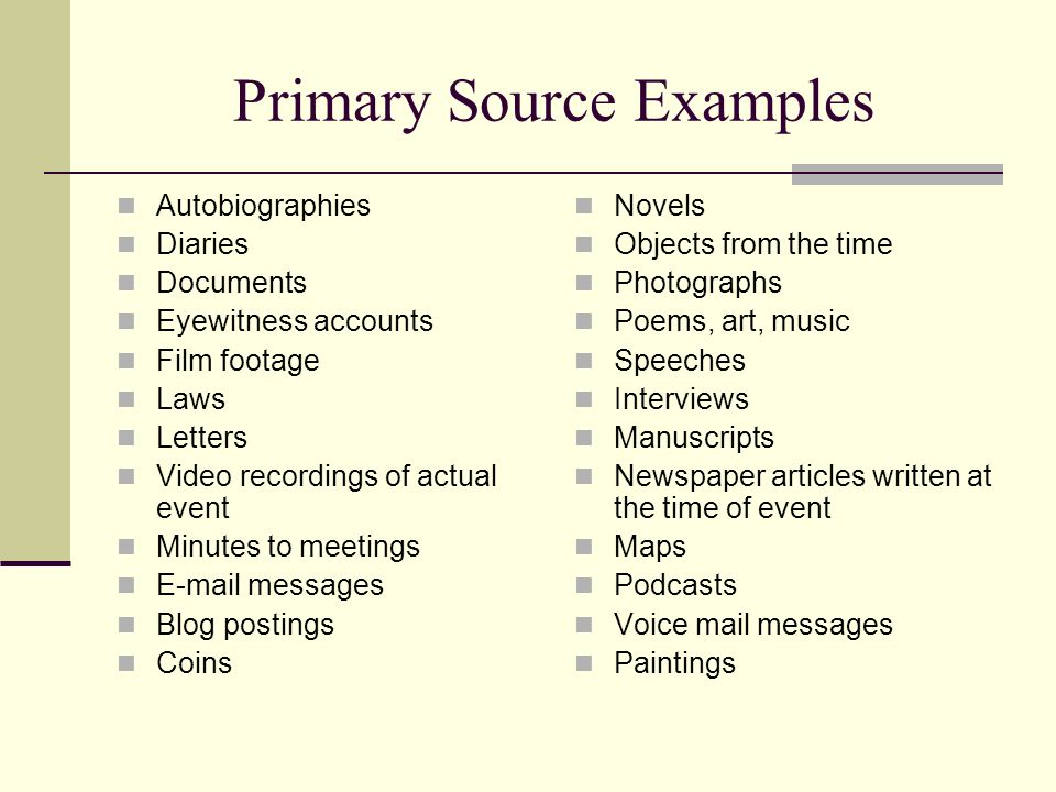 Primary And Secondary Sources Ppt Video Online Download
