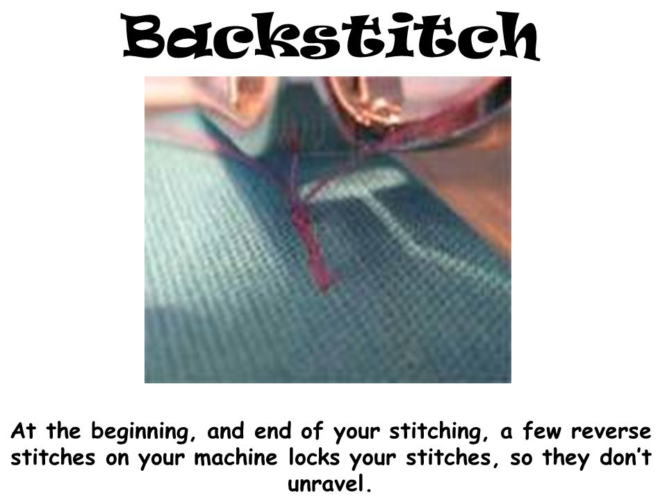 Basic Sewing Terms and Definitions - ppt video online download