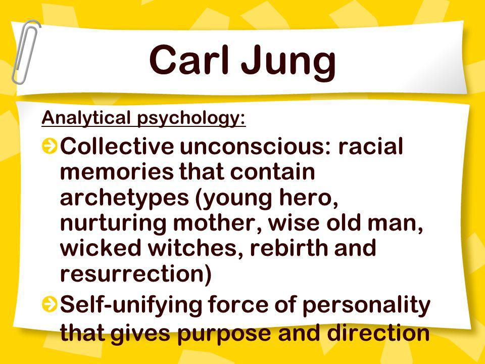 Carl Jung Analytical psychology: