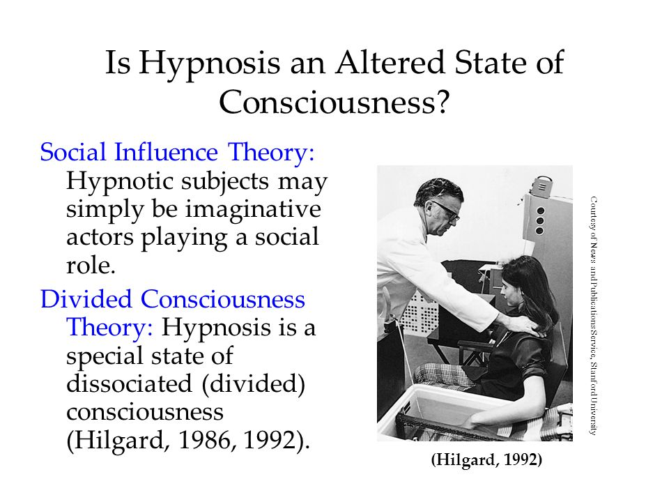 Is Hypnosis an Altered State of Consciousness