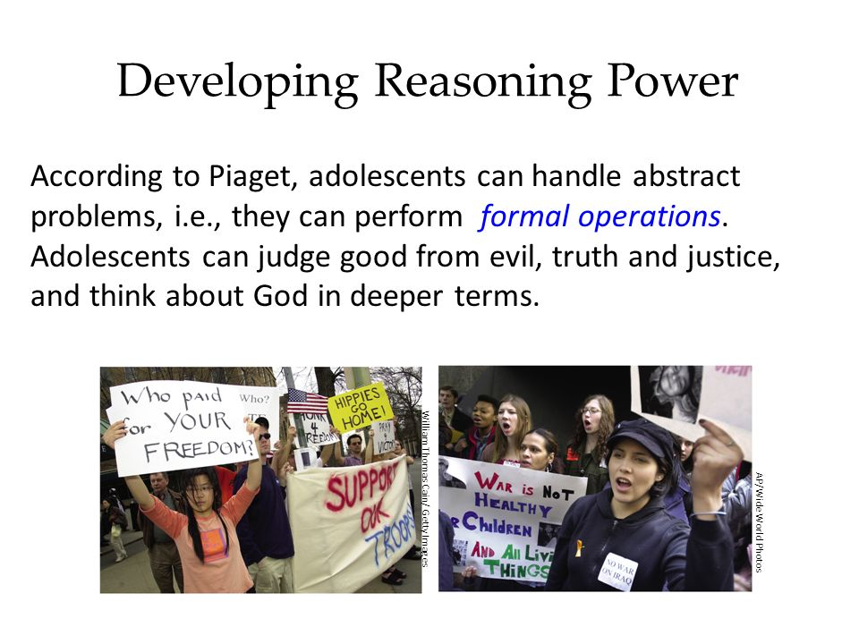 Developing Reasoning Power