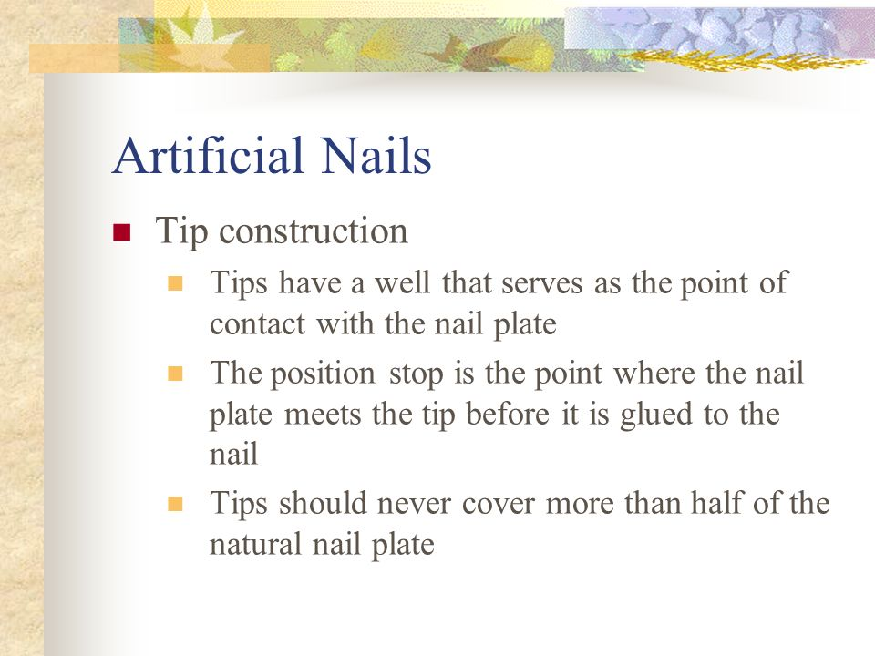 Advanced Nail Techniques - ppt video online download