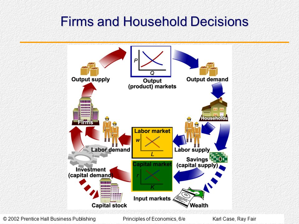 Firms and Household Decisions