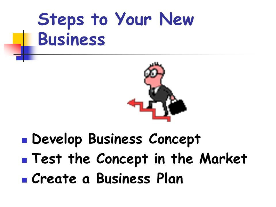Steps To Your New Business