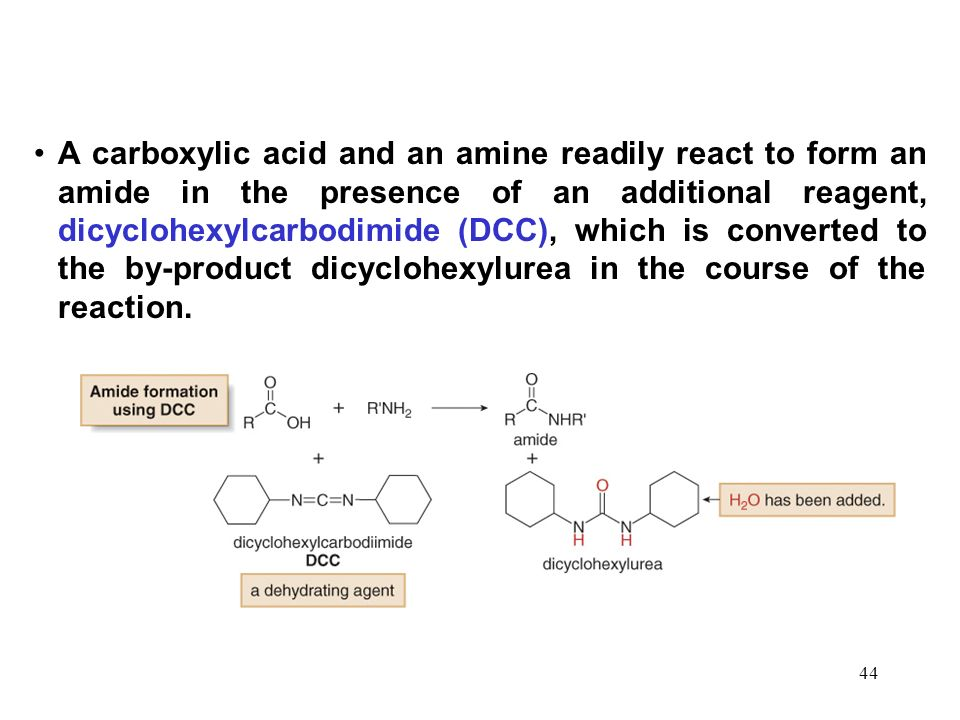 Carboxylic Acids and Their Derivatives—Nucleophilic Acyl