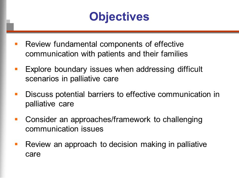 discuss potential barriers to effective communication