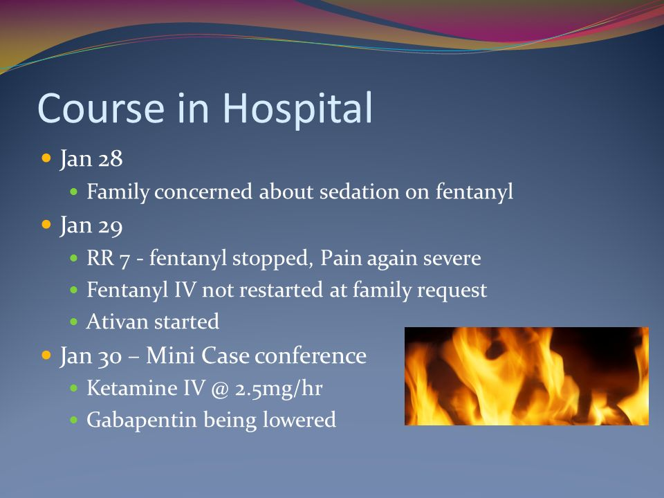 Course in Hospital Jan 28 Jan 29 Jan 30 – Mini Case conference
