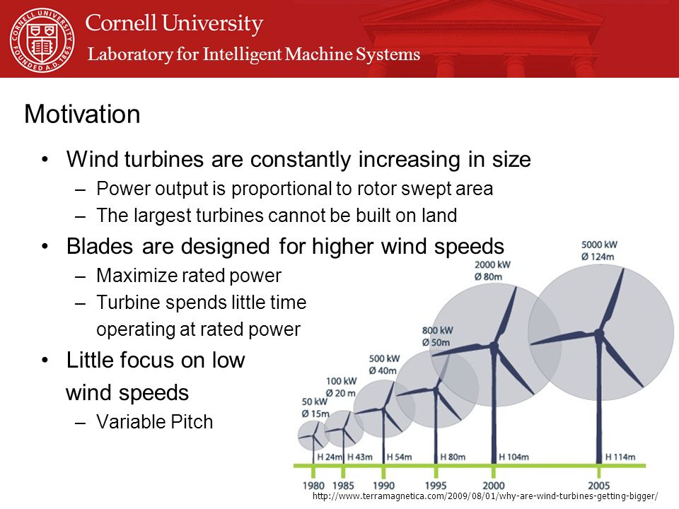 Dynamically Variable Blade Geometry for Wind Energy - ppt