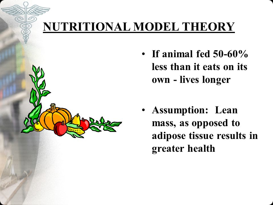 NUTRITIONAL MODEL THEORY