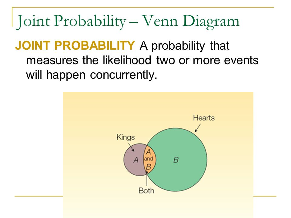 Bus 220 elementary statistics ppt video online download 20 joint probability venn diagram ccuart Gallery