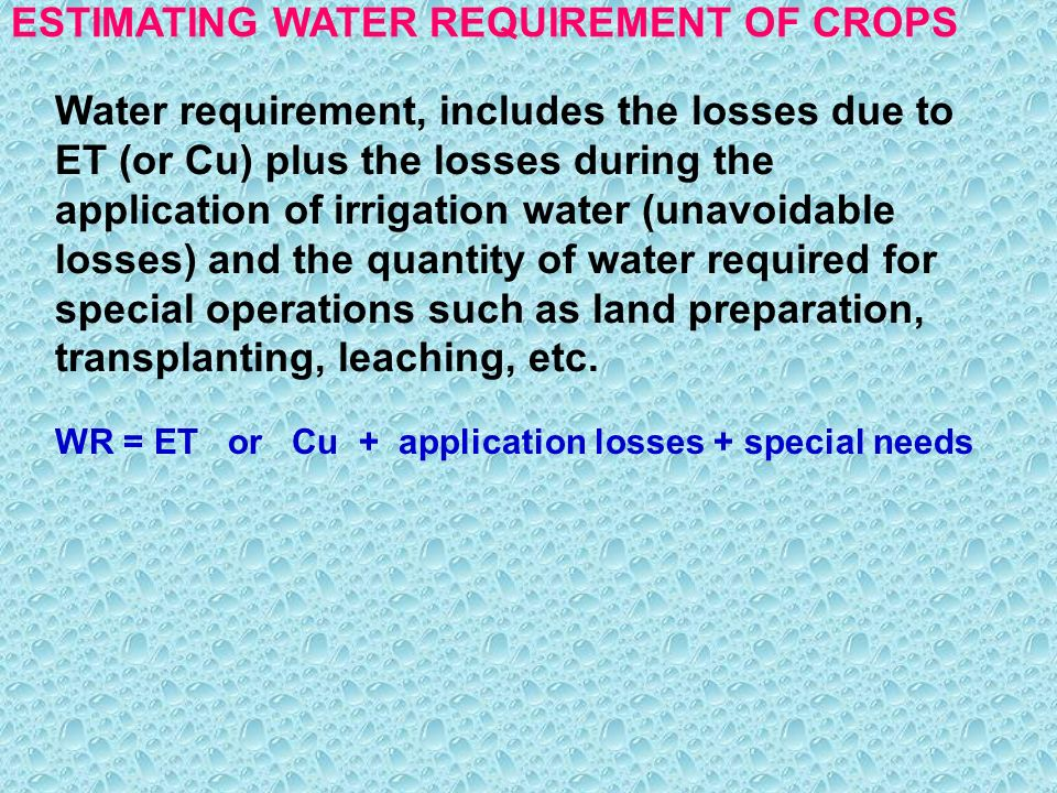 Basics in irrigation engineering ppt download.