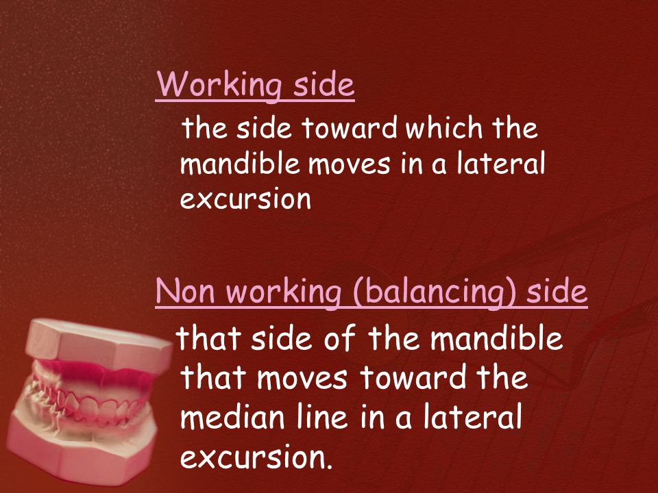 Ppt principles of occlusion in complete denture powerpoint.