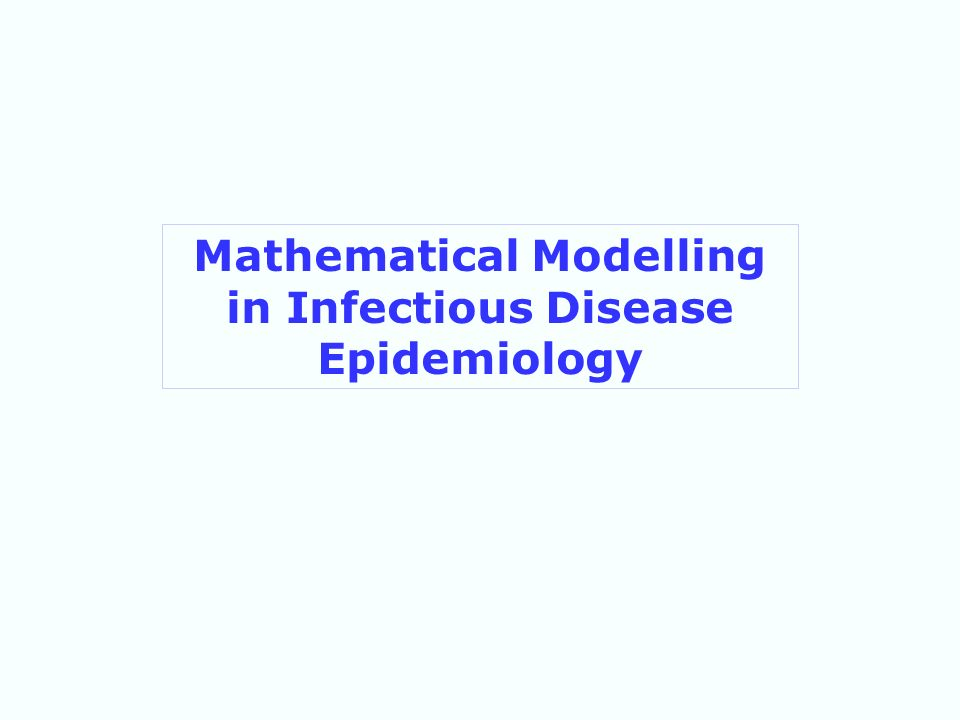 Mathematical Modelling in Infectious Disease Epidemiology