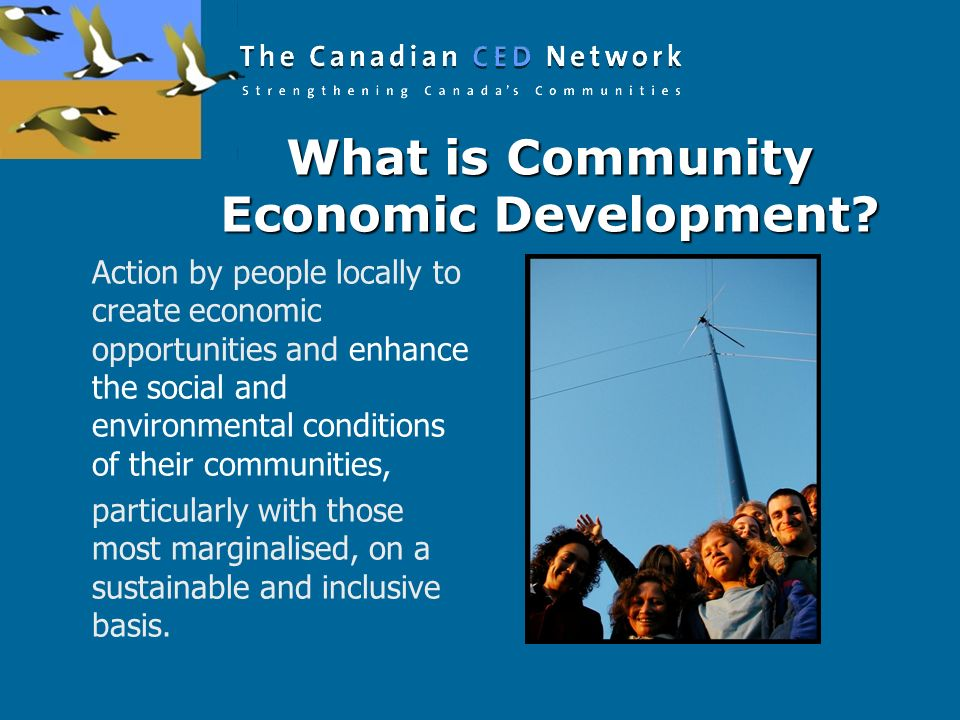 What is Community Economic Development