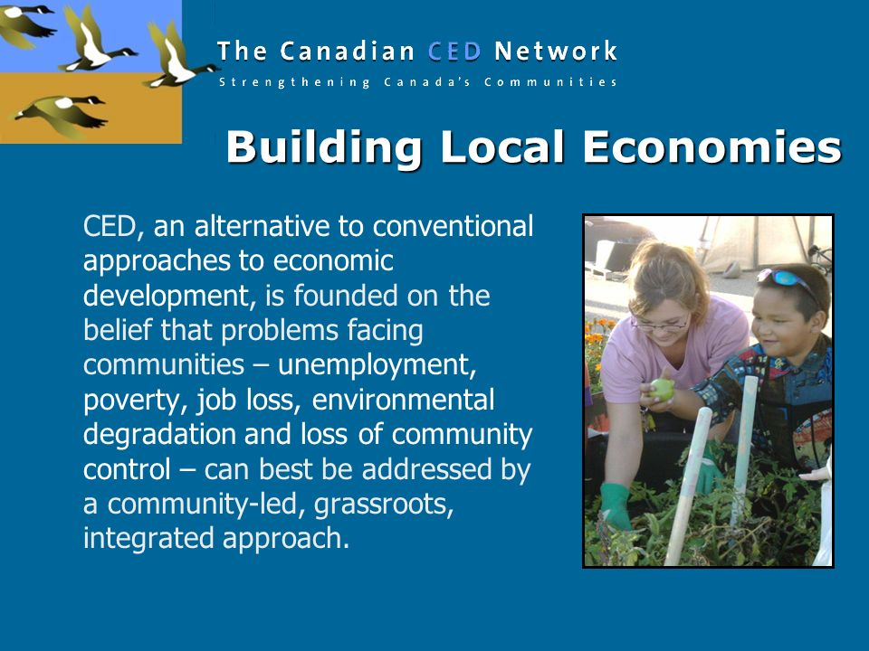 Building Local Economies