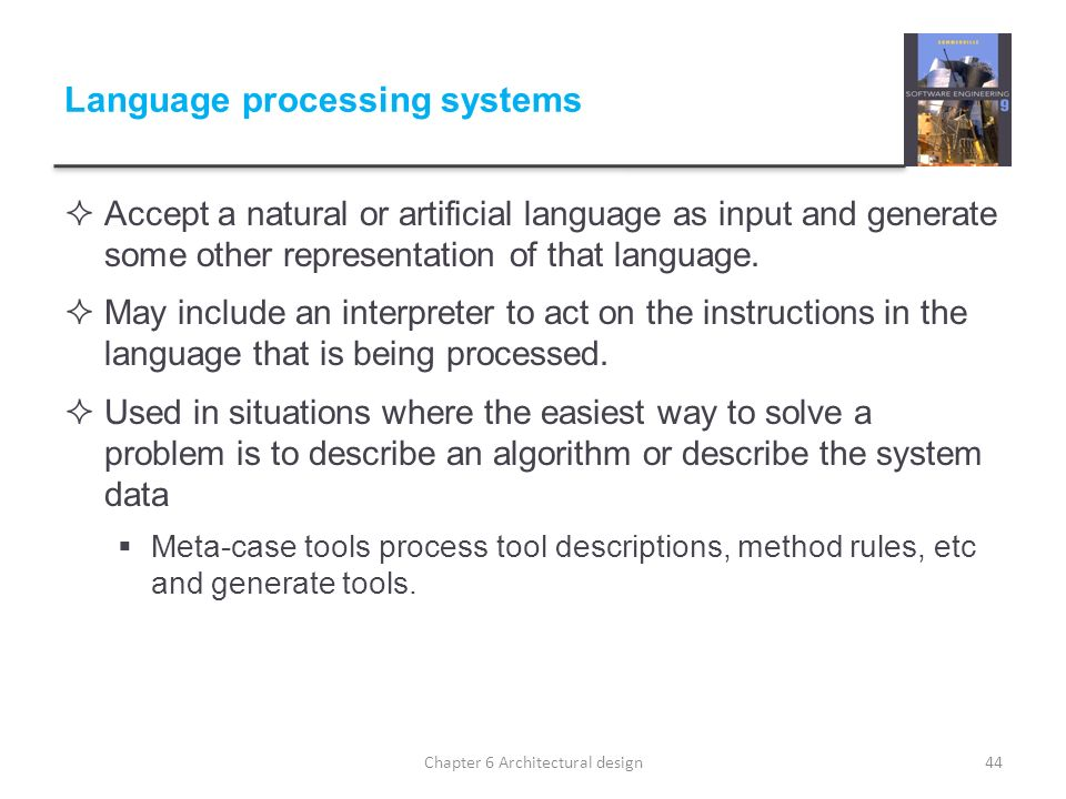 Language processing systems