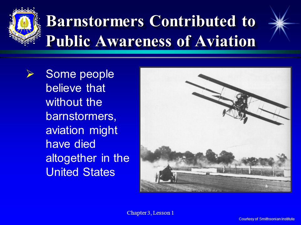 Chapter 3 - Lesson 1 The Barnstormers  - ppt video online