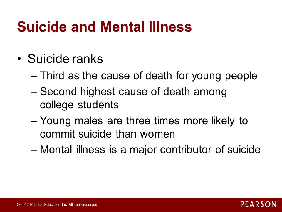 Problems of Mental Illness and Treatment - ppt video online
